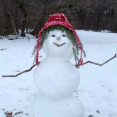 snow woman